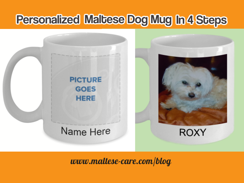 How To Create A Personalized Maltese Dog Mug